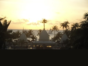 Sunset at Hotel Riu Palace, Aruba