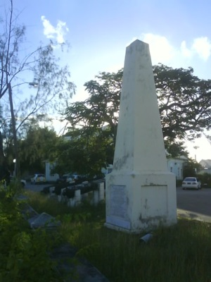 Holetown Monument, Saint James, Barbados