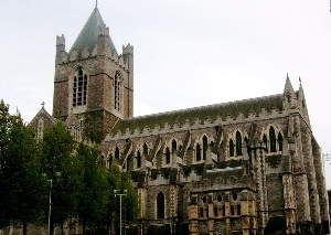 Christchurch Cathedral, Dublin, Ireland