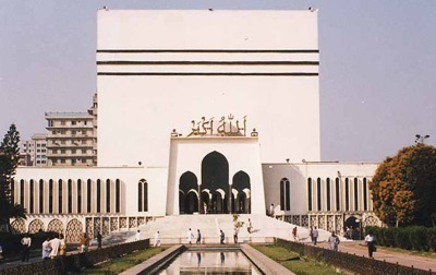 National Mosque in Bangladesh
